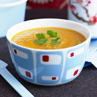 Curried Pumpkin Soup.