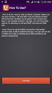 Call And SMS Blocker screenshot