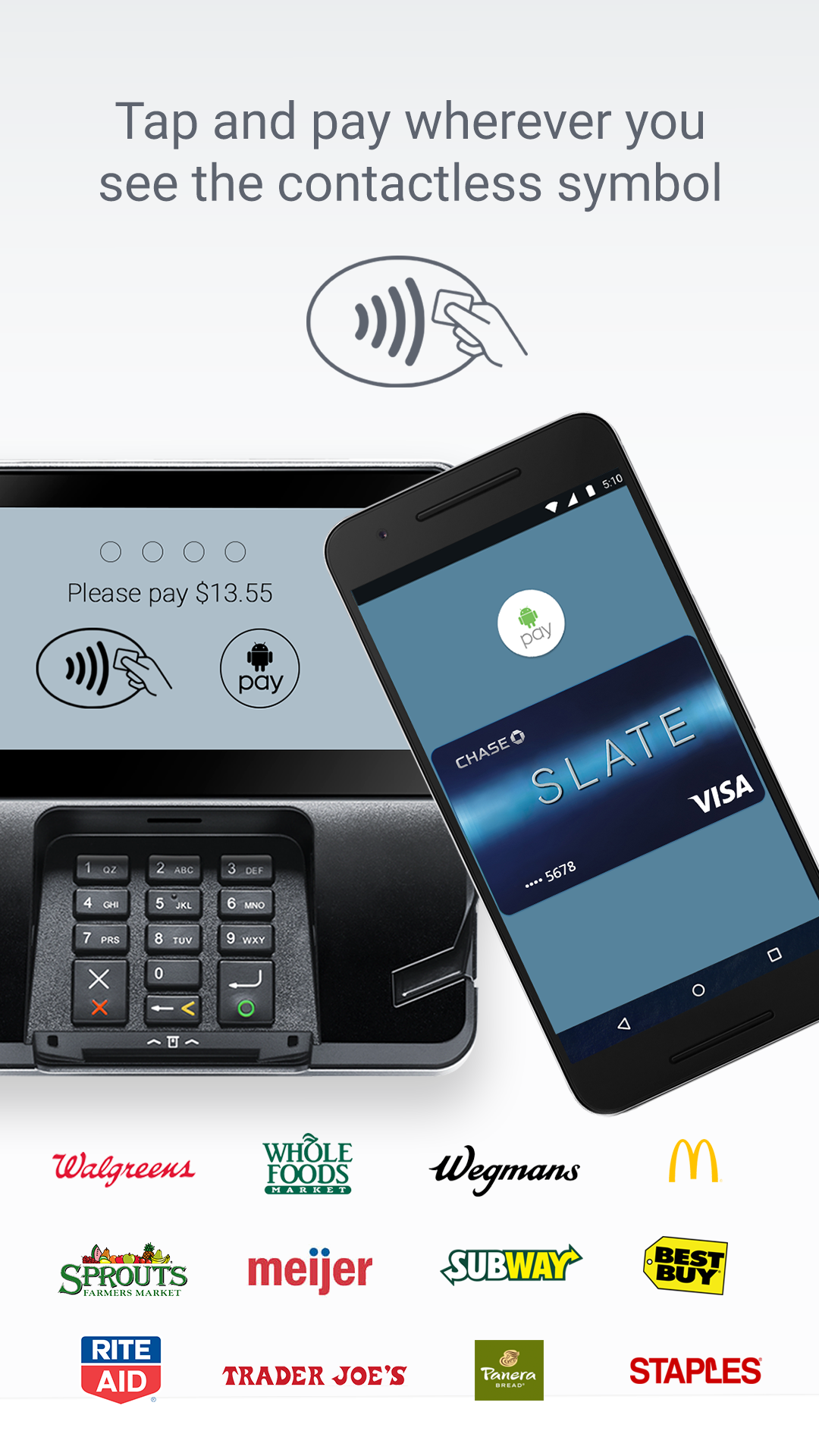 Android Pay screenshot #1