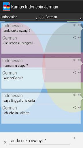 Kamus Indonesia Jerman Pro