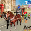 Horse Taxi City School Transport Pro icon