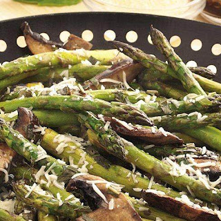 Grilled Asparagus Mushrooms Recipes