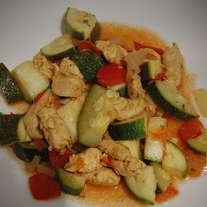 Chicken and Zucchini Curry