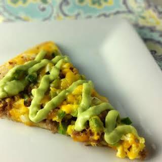 Southwest Breakfast Pizza.
