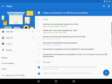 Chaos Control: Task List & GTD 1.7.1 screenshot 562448