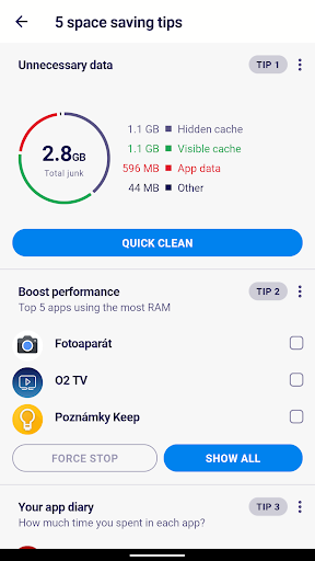 AVG Cleaner – Junk Cleaner, Memory & RAM Booster screenshot 4