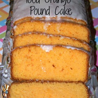Iced Orange Pound Cake