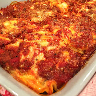 World's Best Lasagna.