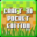 3D Minecraft Pocket Edition icon