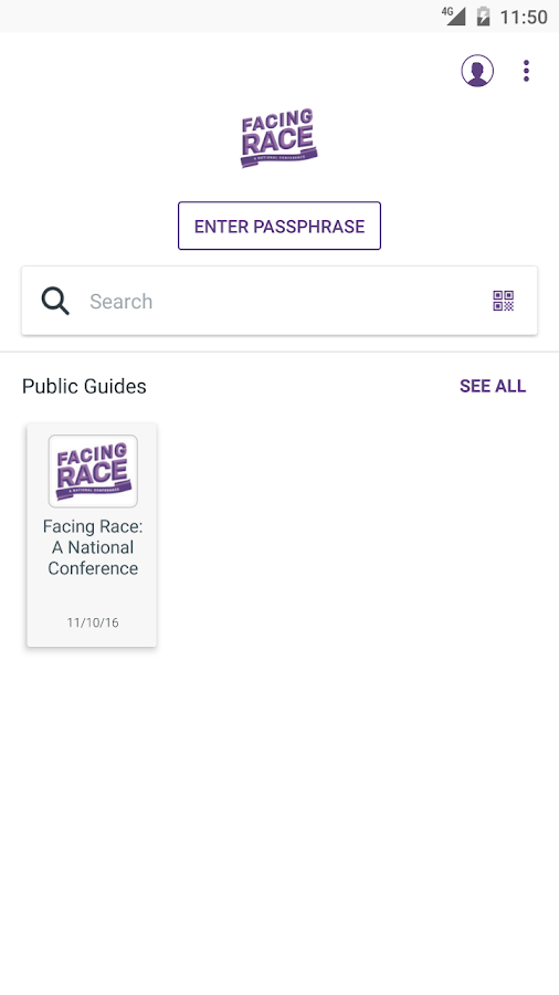 Facing Race Conference- screenshot