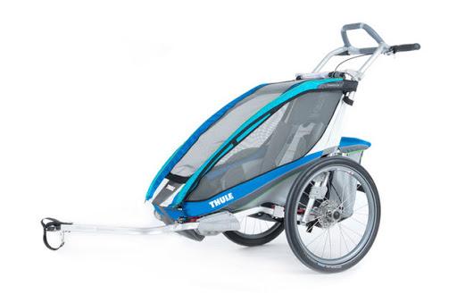 Remorque vélo électrique enfant