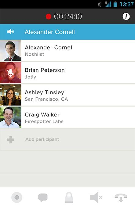 UberConference - Conferencing- screenshot