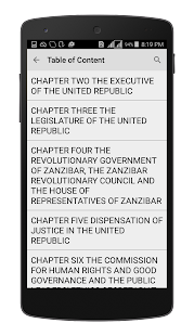 Tanzania Constitution 1977 - náhled