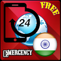 India Emergency Contact icon