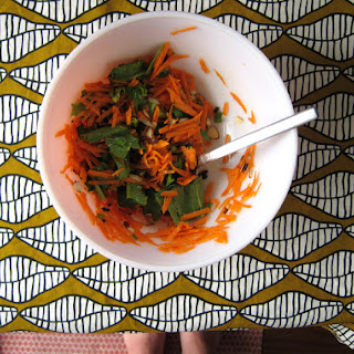 Dorie's Cafe-style Grated Carrot Salad