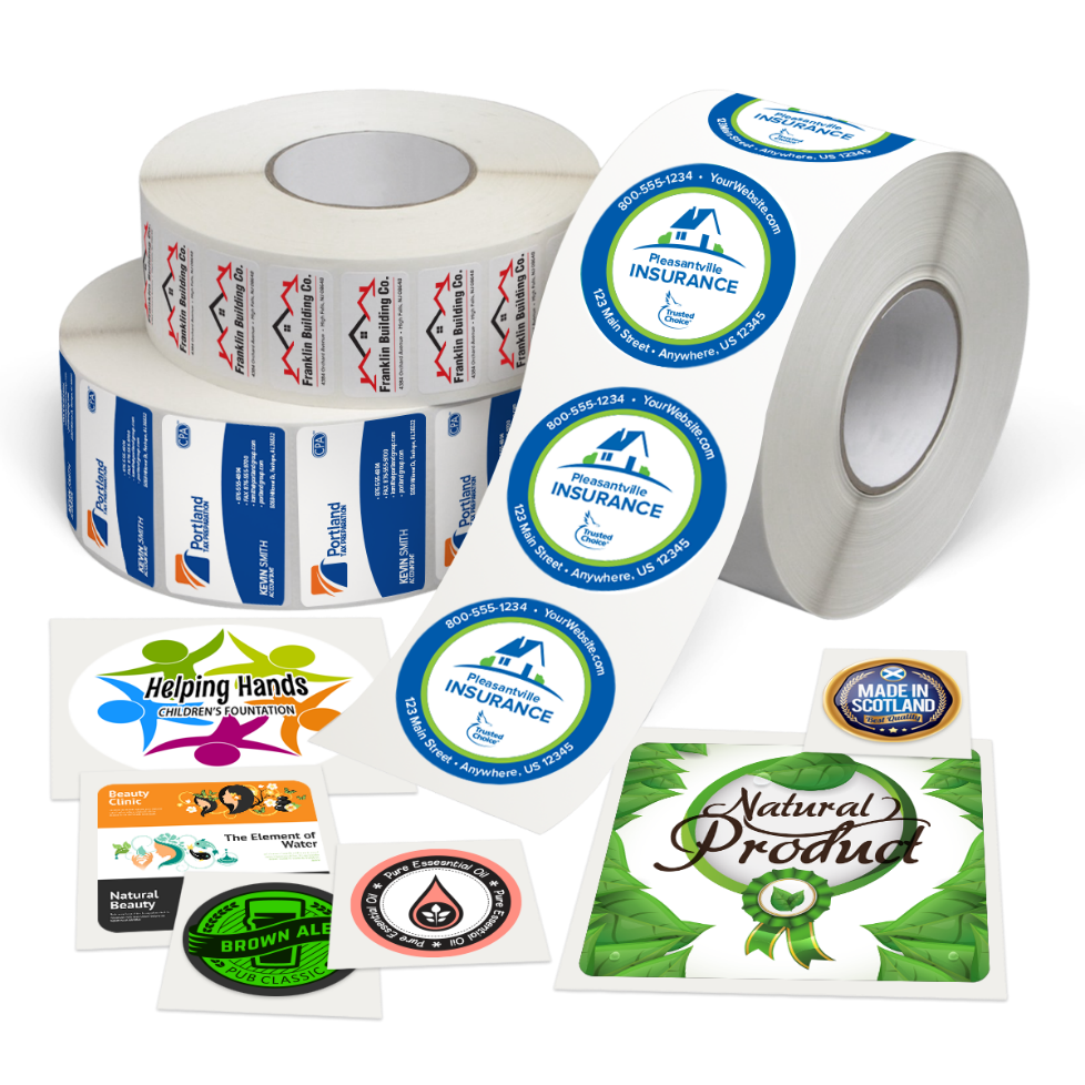 Custom Label Printing | Labels on a roll | Mines Press