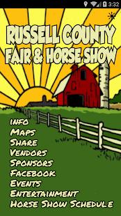 Russell Co Fair & Horse Show- screenshot thumbnail
