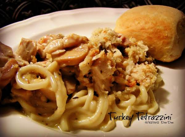 Turkey Tetrazzini - Dee Dee's Recipe