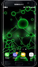 Particle Molecules 3D Live Wallpaper screenshot thumbnail