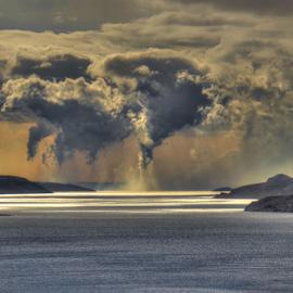 Dance of clouds by Dalibor Jud - Landscapes Cloud Formations ( croatia, kanal, hrvatska, more, adriatic, clouds, velebitski, dance, sea, nature photography, jadransko )