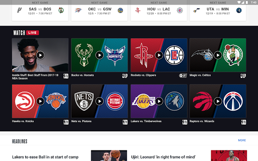 Download NBA MOD APK 10
