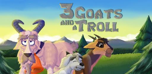 Afbeeldingsresultaat voor drie geitjes en trol