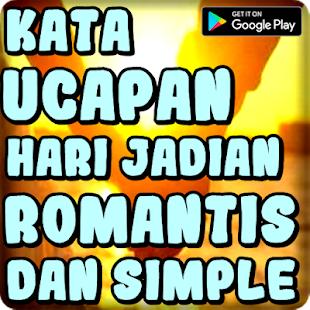 تنزيل Kata Ucapan Hari Jadian Romantis Dan Simple 100