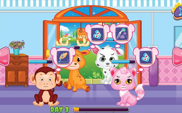 android Pets Clinic - Kids Doctor game Screenshot 6
