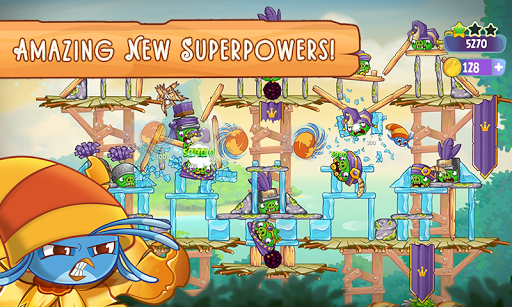 Angry Birds Slingshot Stella screenshot 4