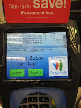 Photo: Using the Balance Rewards card got my total down from from $62 to $41.45!
