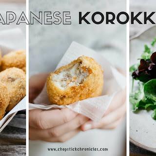 Potato Croquettes - Japanese Korokke ポテトコロッケ Recipe