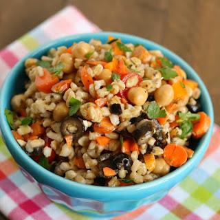 Barley Vegetable Salad.