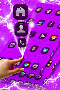 Download Vintage Purple Launcher For PC Windows and Mac apk screenshot 4