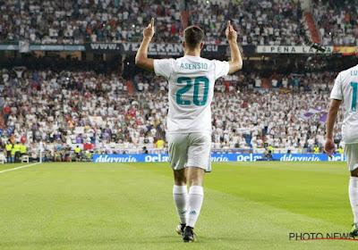Marco Asensio krijgt het rugnummer van Gareth Bale