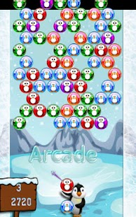 Penguins Bubble Shooter - náhled