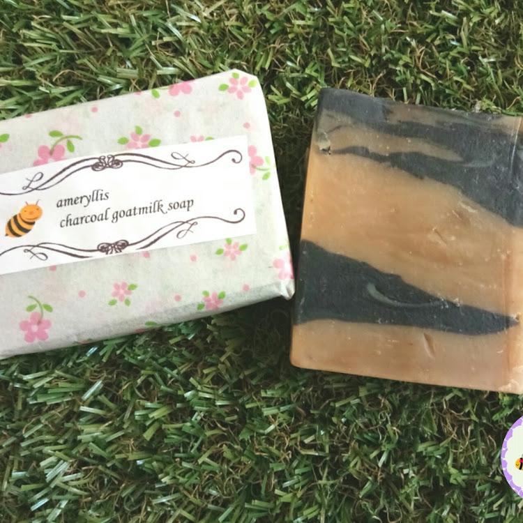 ameryllis goat milk charcoal soap by ameryllis nature soap