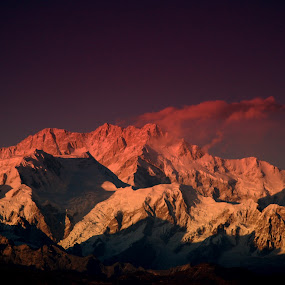 Kanchenjunga by Saikat Datta - Landscapes Travel ( sandakphu trek )