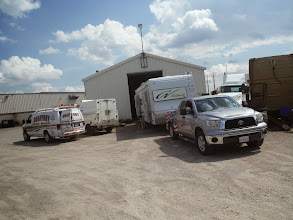 Photo: Day 44 London ON to Brantford ON Aug 2 2013 Getting electrical problem fixed