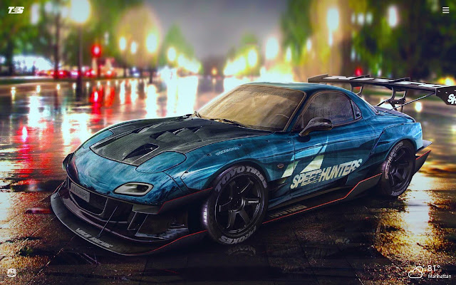 Mazda Rx7 Hd Wallpapers New Tab Theme