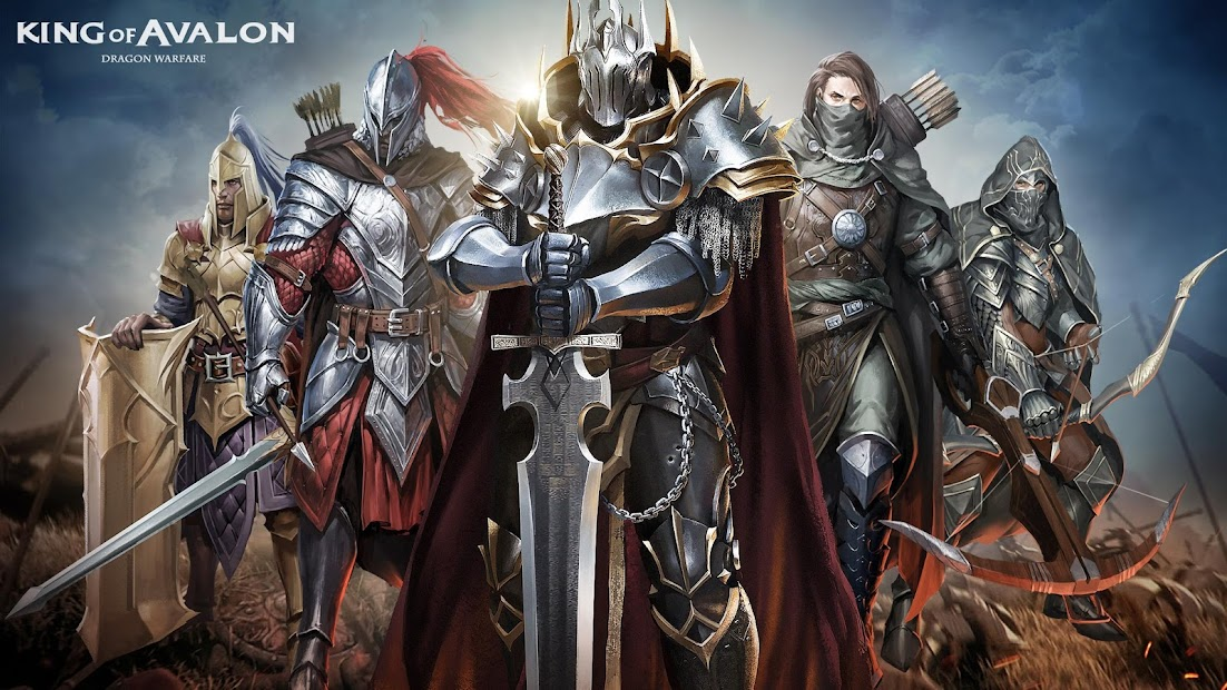 King of Avalon: Dragon War | Multiplayer Strategy Android App Screenshot
