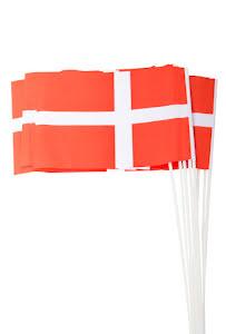 Pappersflagga, Dansk 10 st