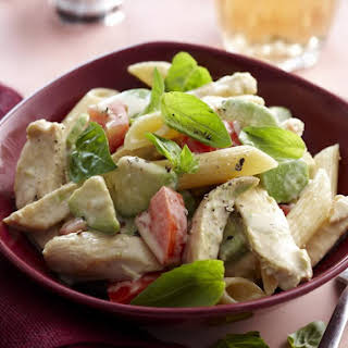 Creamy Chicken and Avocado Penne.