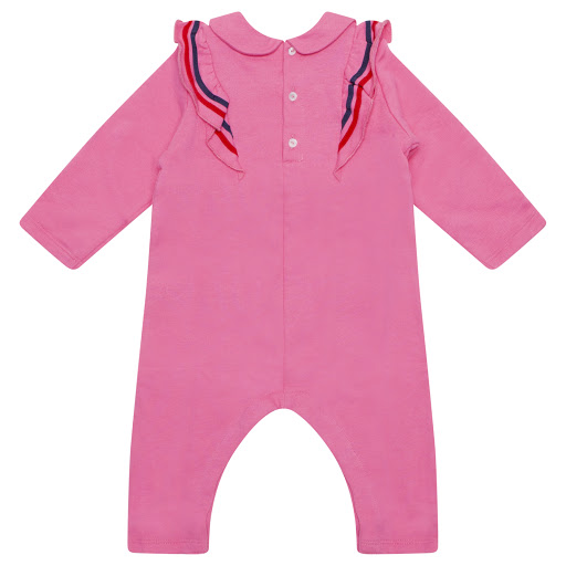 Thumbnail images of Gucci Bow Babygrow