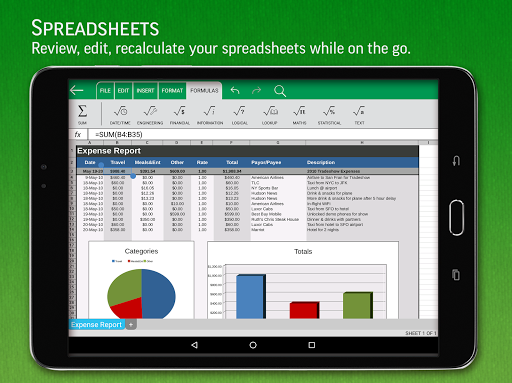 SmartOffice - View & Edit MS Office files & PDFs screenshot 10