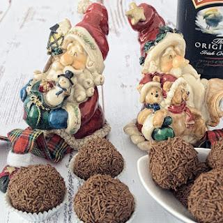Baileys Chocolate Truffles.