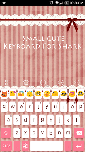 Emoji Keyboard-Small Cut