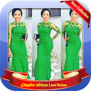 Creative African Lace Styles Design icon