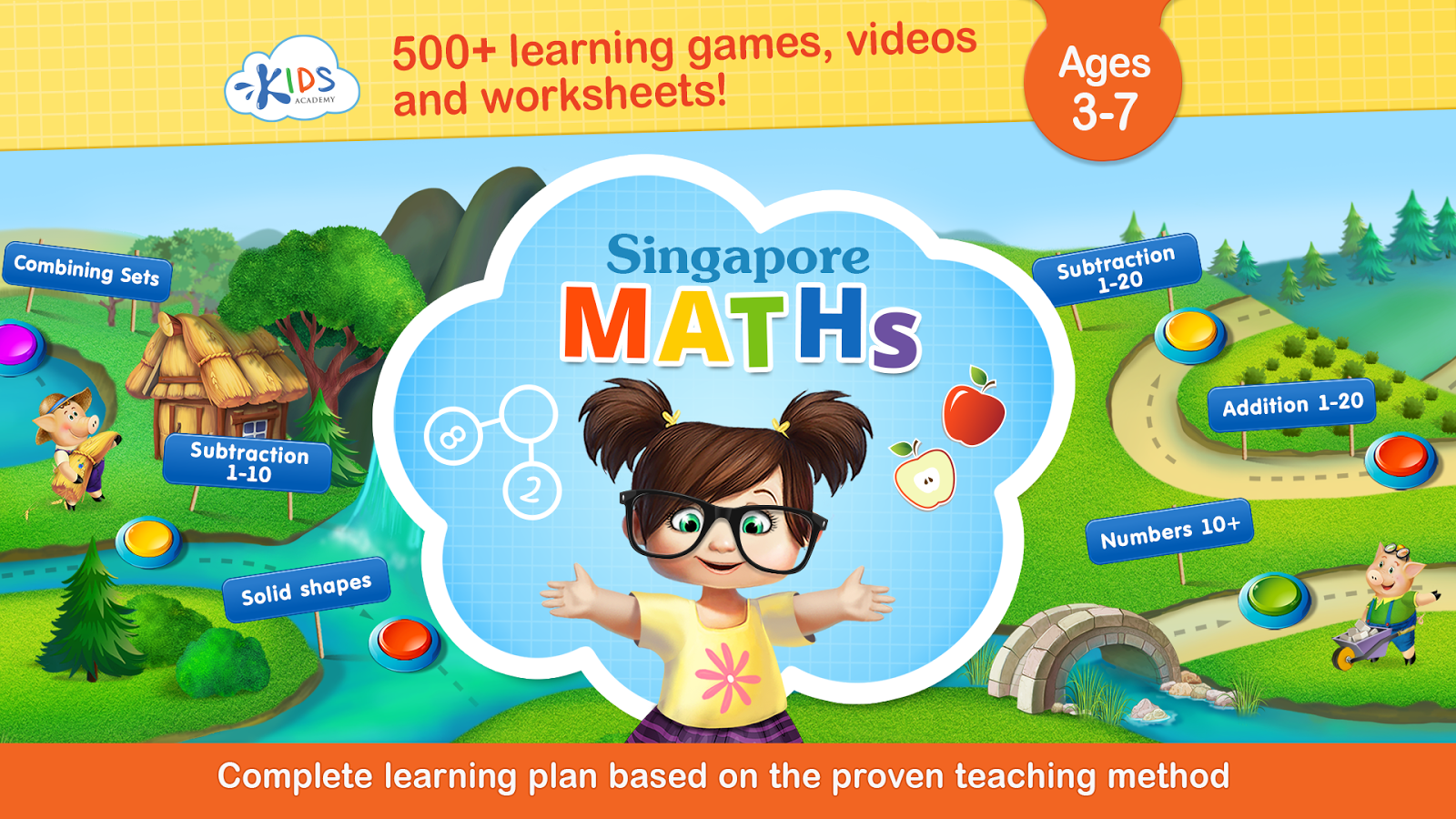 Workbooks » Singapore Math For Kindergarten Worksheets - Free ...