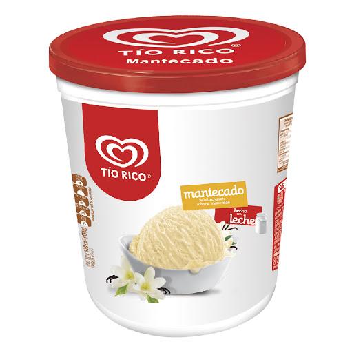 helado tio rico mantecado 850ml