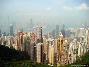 Photo: CHINE-Hong Kong, la brume s'est levée